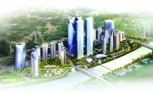 天津中心商务区图片