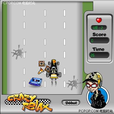 疯狂卡丁车小游戏