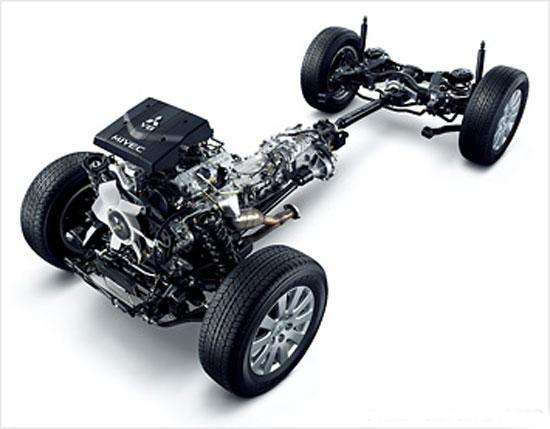 虎添翼.优于搭载了全新的发动机,帕杰罗v93在油耗上的表现也高清图片