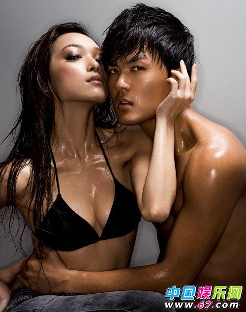 男人 吴克群/吴克群湿身拍半裸写真为Ella积极健身