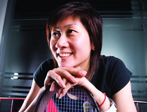 羽球女单冠军朱琳专访 中生代球员的生存之道