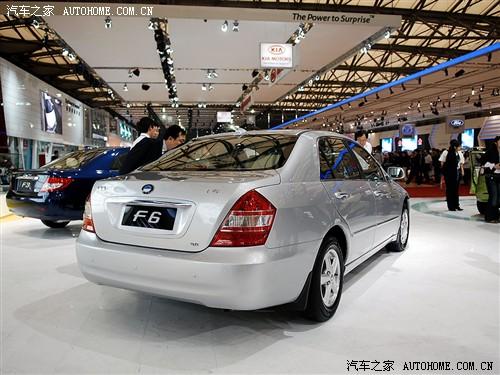 『比亚迪F6是双模电动汽车』-比亚迪全力出击 三款新车齐现广州车展图片