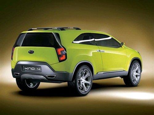 诺10年保修 起亚最新款SUV将投放北美 图高清图片