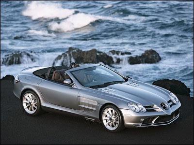 1. 近日,梅赛德斯-奔驰公司发布了最新的slr mclaren 高清图片