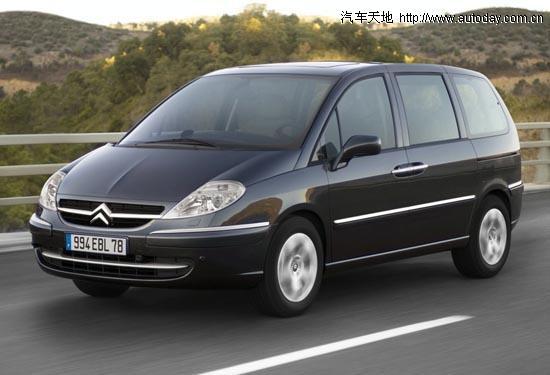 雪铁龙低调发布改款新c8 新增加柴油版本