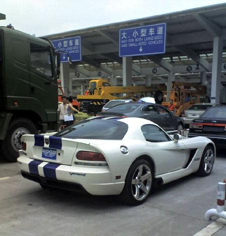 中国首台道奇蝰蛇成都上牌价值170万 图 道奇蝰蛇 北方网 高清图片