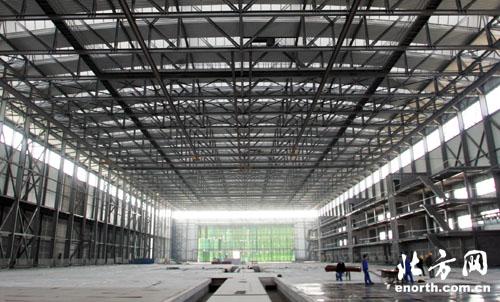 天津重大工业项目:a320飞机总装线进展(图)-重大工业