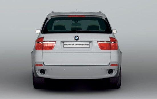 宝马X5电力 柴油驱动 最环保的SUV亮相高清图片