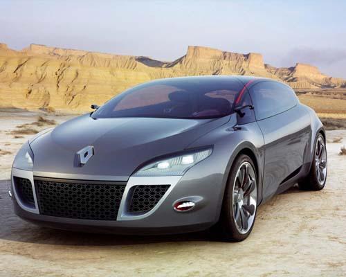 雷诺梅甘娜概念轿跑车高清图片