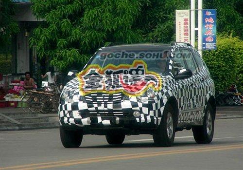 『上汽荣威SUV谍照』-源自双龙享御 上汽荣威首款SUV谍照曝光高清图片