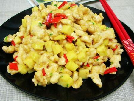 笋鸡美味椒校区米香-家常,美食半边街师川东食谱美食图片