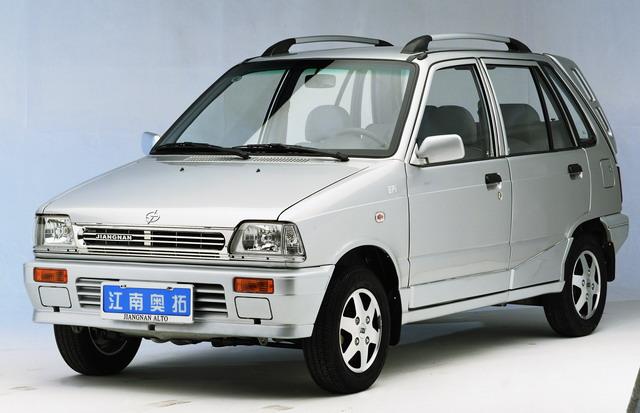 股集团合并后的江南汽车-国三标准新江南奥拓成都到车高清图片