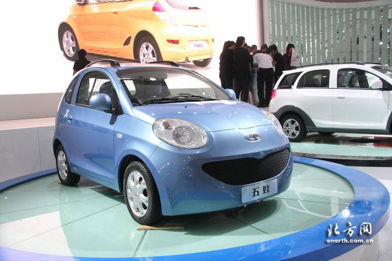 2008北京车展展车提前看 奇瑞五娃系列 北京车展, 北方网