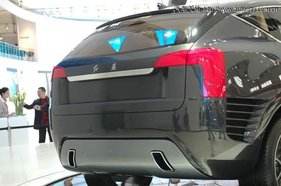 车展一线报道 红旗顶级SUV概念车型高清图片