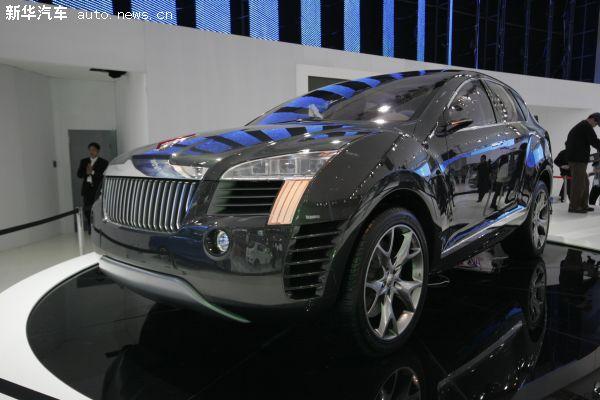 红旗SUV概念车亮相北京车展-红旗推高端SUV遇众多对手 专家不看好高清图片