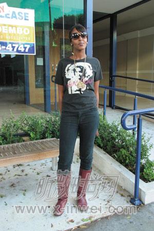 靴最能展现女性气质-街拍时尚女孩的经典配饰图片