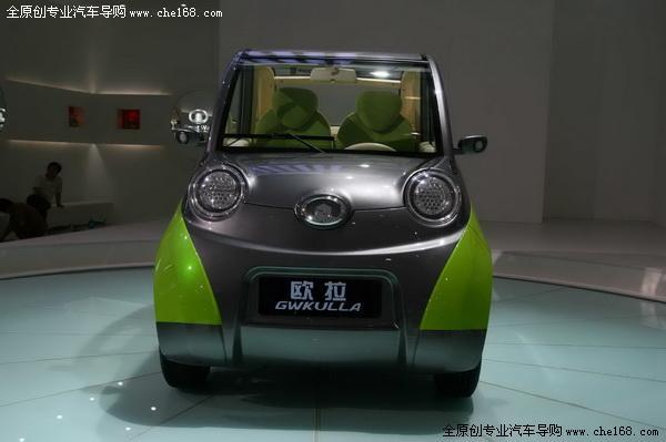 长城纯电动小车 欧拉亮相广州车展 高清图片