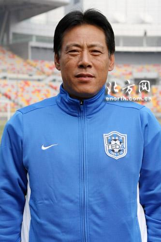 2009赛季天津泰达足球队主教练--左树声
