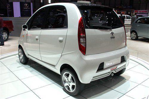 印度最便宜汽车Nano将上市 售价仅1.6万元高清图片