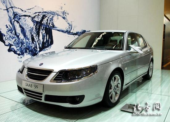 坚守独特 saab萨博自信亮相2009上海国际车展 高清图片