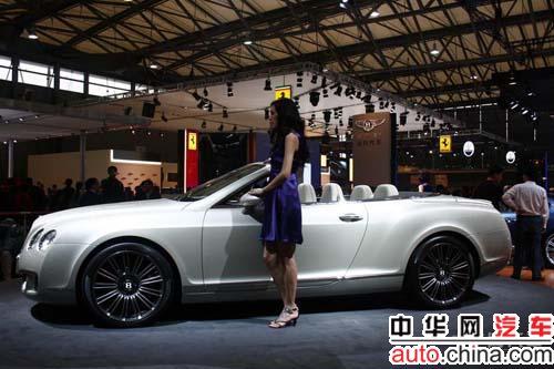 来自英国的顶级高端豪华轿车品牌宾利,携旗下三款欧陆speed高清图片