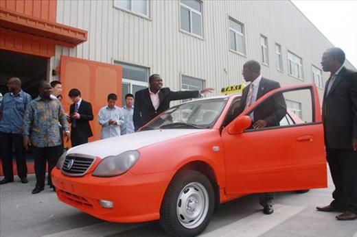 科特迪瓦欲采购吉利自由舰改变当地出租车形象高清图片