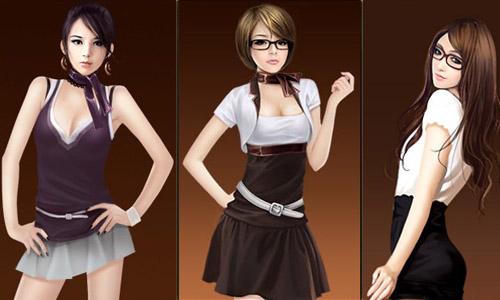 十大风情美女秘书和两大帅哥秘书任你选择