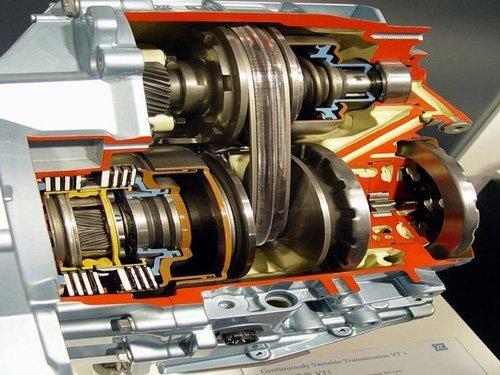 cvt结构比传统变速器简单