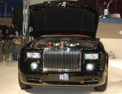 劳斯莱斯幻影亮相 新车型古斯特将发布 图高清图片