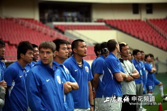 北方网 体育节拍 泰达 媒体报道 正文    天津泰达俱乐部求购申花国脚