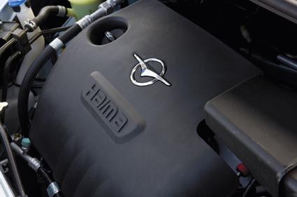 海马丘比特发动机高清图片