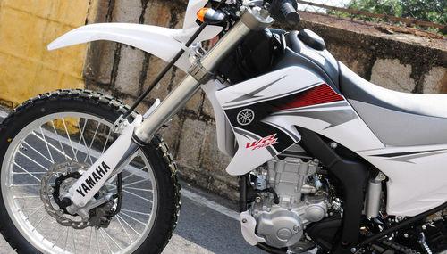路上行 山上爬 越野摩托车雅马哈WR250R-摩托