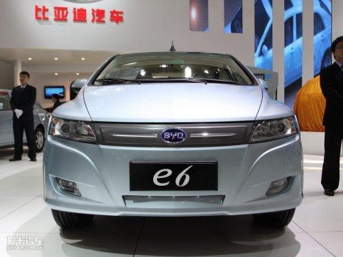 30万的电动车 比亚迪E6纯电动车9月上市高清图片