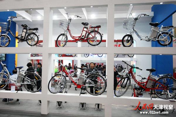 聚焦第11届北方国际自行车展 天津科斯特电动车广受好评