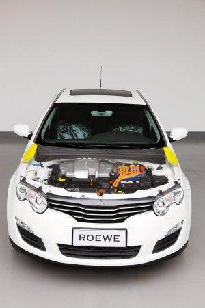 荣威550插电混动版将亮相车展 节油率50高清图片