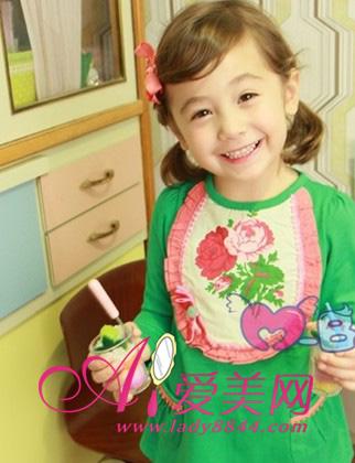 儿童节女生发型 时尚韩系可爱满分