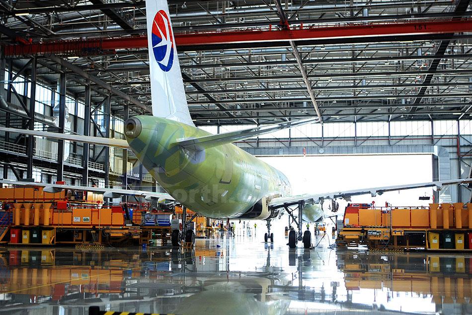 第50架天津总装空客320飞机交付使用