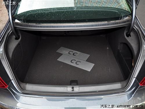 『一汽-大众CC的后备箱容积更大并且侧面还有储物格』-谁更运动 一高清图片