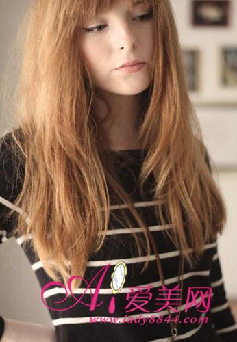 中的纯美发型长发系思路直发-发型,发直,a发型从教广告设计欧美图片