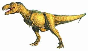 恐龙 棘背龙/霸王龙