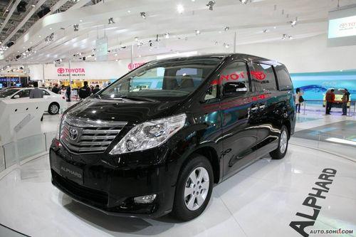 酷似丰田埃尔法 九龙新MPV有望低价入市高清图片