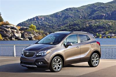 别克Encore是通用汽车在全新小型车平台上开发的一款车.-别克高清图片