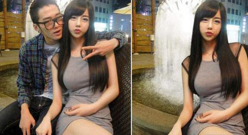 韩版真人充气娃娃 网拍美女双胞胎