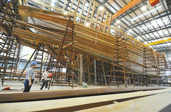 船舶桅杆结构原理