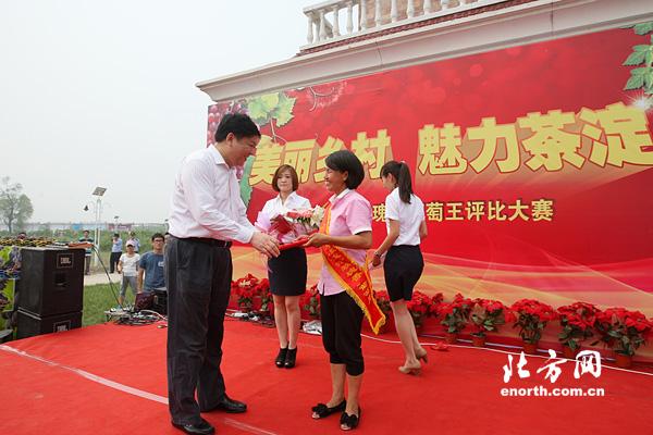汉沽葡萄图片旅游节开幕50种植户争文化王称葡萄情趣内衣东方图片