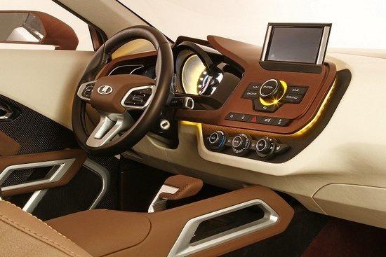 拉达概念SUV车型XRAY发布高清图片