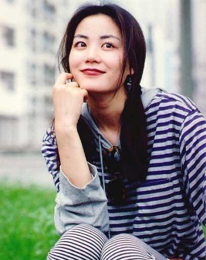 清纯的美 王菲17岁素颜照曝光