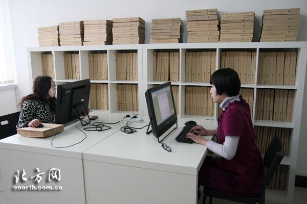 津首家盲人图书室用听觉阅读 打开心灵之窗-盲