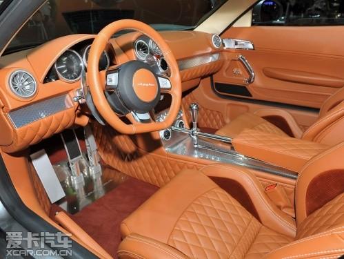 剑指保时捷911 世爵B6概念车日内瓦发布高清图片