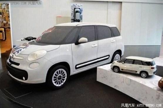 菲亚特500最后两款衍生车型 2014年推出 高清图片